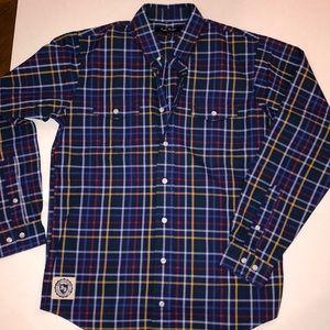 Brooks Brothers plaid boys shirt